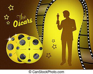 the Oscar - illustration of the Oscar