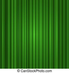 Green Color Stripe Abstract Background. Vector