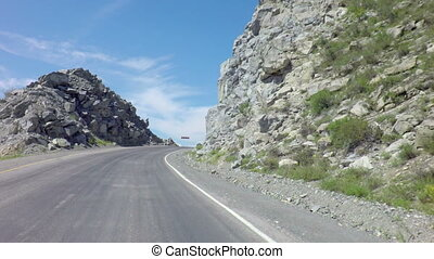 Travel on Chuysky Trakt through pass Chike Taman. - Travel...