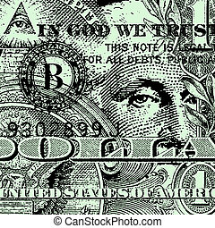 Dollar Bill - A Dollar Bill Background Design