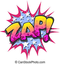 Comic Book Illustration - A Zap Comic Book Illustration...