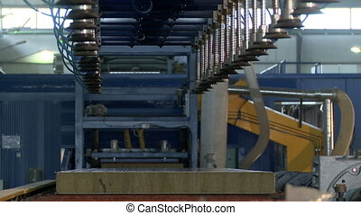 Auto conveyor for production of sandwich panels - Automated...