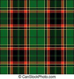 Textured tartan plaid Seamless vector pattern