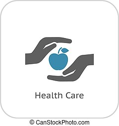 Health Care Icon. Flat Design. - Health Care Icon. Flat...