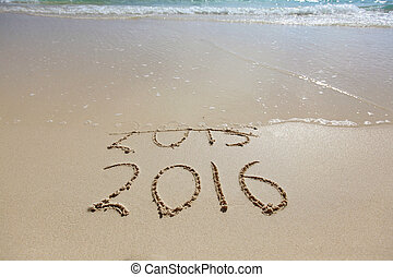 New Year 2016 is coming concept Happy New Year 2016 replace...