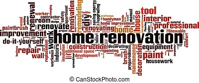 Home renovation [Converted].eps - Home renovation word cloud...