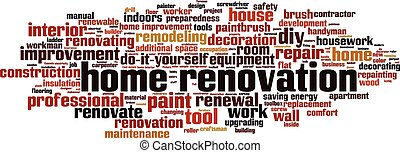 Home renovation-horizon Convertedeps - Home renovation word...