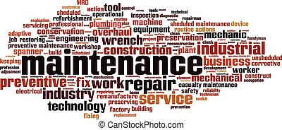 maintenance-horizon Convertedeps - Maintenance word cloud...