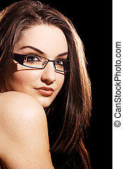 Beautiful Woman - A beautiful young woman wearing...