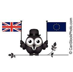 Pro European Union - Representation of pro European Union...