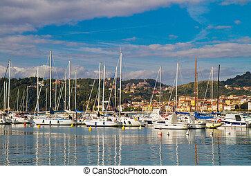Port of Lerici, Cinque Terre