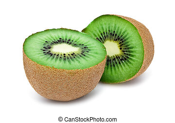 Kiwi - Fresh Kiwi isolated on white background