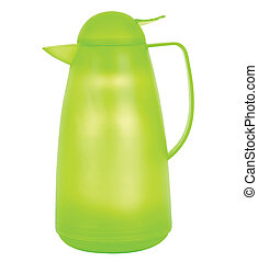 thermos - green thermos