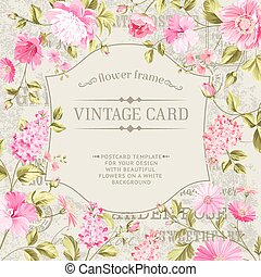 Awesome vintage label. - Awesome vintage label of color...