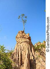 Sao Din Na Noi, Nan, Thailand - Sao Din Na Noi is a soil...