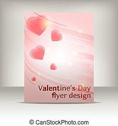 flayer design valentin - Valentin's day flyer design,...