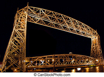 Lift Bridge in Duluth, Mn