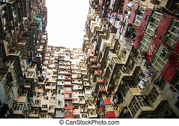 Old apartment in Hong Kong , Part of tranformer scene
