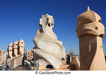 Casa Mila and Sagrada Familia - La Pedrera is also known as...