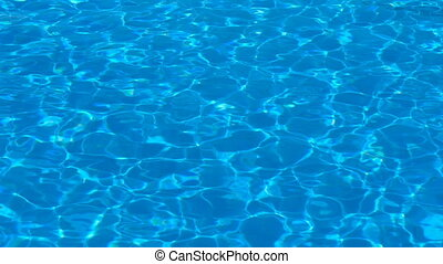 swimming pool water background - swimming pool with ripple...