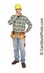 manual worker portrait