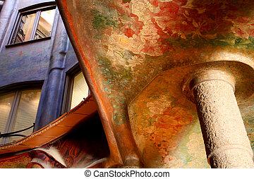 Casa Mila or La Pedrera. Interior
