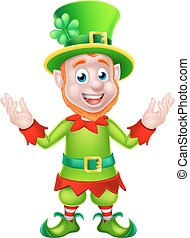 Cartoon Leprechaun - Leprechaun St Patricks Day cartoon...