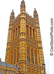 england aged city big ben onstruction - london big ben and...