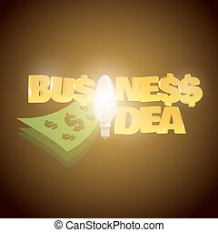Business ideas solutions creativity concept background