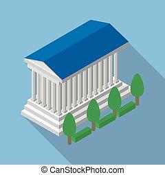 Parthenon in vector format - best flat Parthenon in vector...
