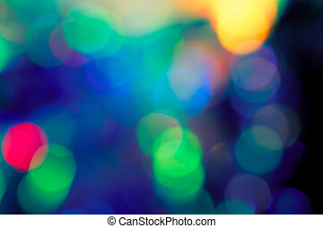 Artistic style Defocused abstract texture bokeh lights in...