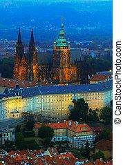 St Vitus cathedral - June 2015 Prague, Czech republic...