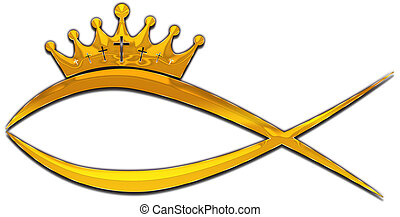 fish - A fish with a crown