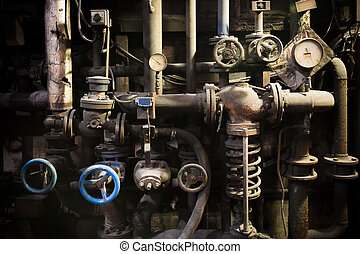 piping systems, industrial equipmen