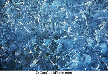 Ice background Ice natural background