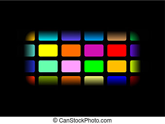 multi-coloured background - Abstract multi-coloured...