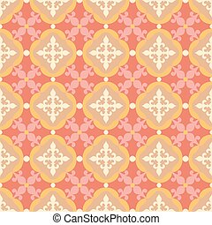 Seamless pattern. Portuguese, Moroccan, Spanish tile.