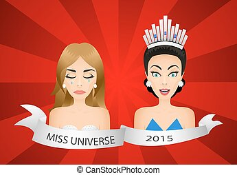 Miss universe 2015 contest Wrong winner Beauty contestants...