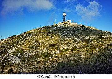 Amazing view of St. Elias peak, Lefkada, Ionian Islands,...