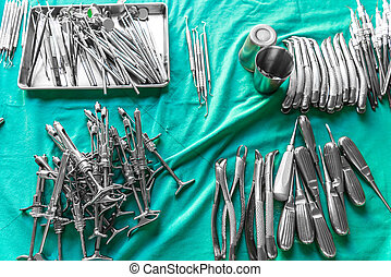 Dental tools  background