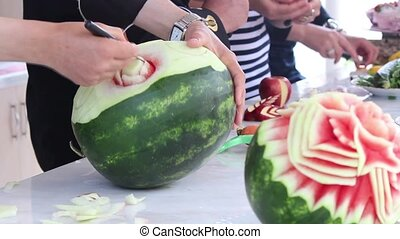 watermelon - Watermelon decorative arts