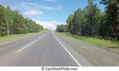 Traveling on the route of Altai Krai - Traveling on the...