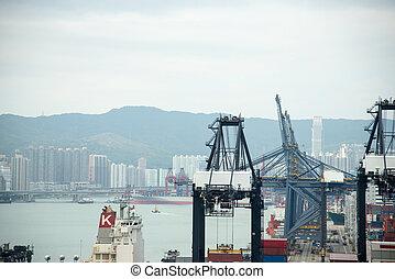 Defocus ,Hong Kong International Terminal Harbour - Hong...