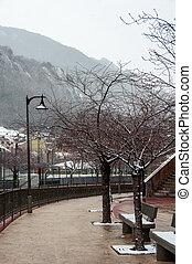 Andorra la Vella streets - Streets of Andorra la Vella in...