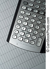 Advanced Financial Calculator - closeup of advanced...