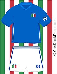 Italian Football Uniform