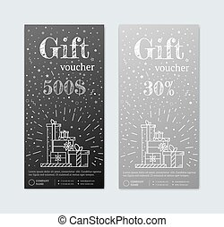 gift certificate with gifts - VIP gift voucher for a...