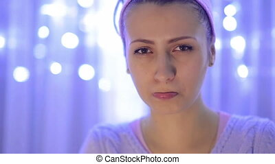 Resentful Women In Christmass Atmosphere - Resentful Women...