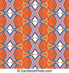 bright, attention-grabbing pattern in the sixties style,...
