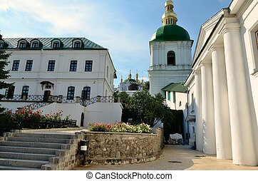 Kiev-Pechersk Lavra - Buildings in the Kiev-Pechersk Lavra,...